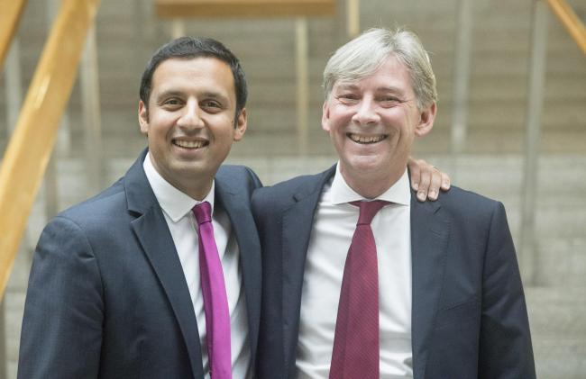 Richard Leonard announced as new leader of Scottish Labour